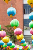 Lamp lantern Stock Images