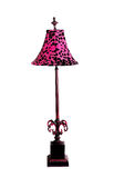Lamp with Leopard Shade Stock Image