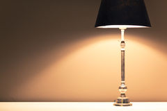 Lamp light background Stock Image