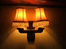 Lamp. light. Royalty Free Stock Images