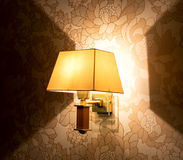 Lamp light. Stock Photo