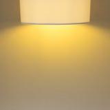 Lamp light on mortar cement wall Stock Photos