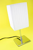Lamp Light on Yellow Royalty Free Stock Photos