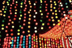 Lamp  lighting festival Royalty Free Stock Images