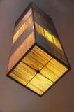 Lamp. Lighting, helped shape the light Royalty Free Stock Image