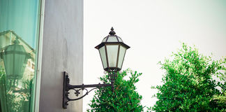 Lamp. Lighting terrace and Light, Lanterns Or Lamp ventage Stock Photography