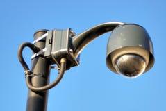 Lamp-a-like CCTV Stock Image