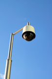 Lamp-a-like CCTV royalty free stock photos