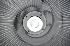 Lamp met Fluorescente Lightbulb Stock Afbeeldingen
