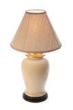 Lamp met schaduw Stock Afbeelding