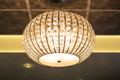 Lamp in modern interior Royalty Free Stock Photo