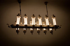 Lamp in Moskou ondergronds Royalty-vrije Stock Afbeelding