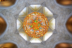 Lamp in mosque Royalty Free Stock Image