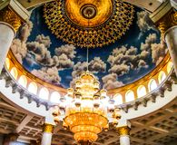 The lamp mosque royalty free stock photos