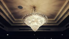 Lamp. Night, architecture, design, building Royalty Free Stock Photography