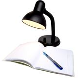 Lamp and notebook Stock Photography