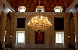 Free Lamp Of The Vestibule Of The Royal Palace Of Aranjuez Royalty Free Stock Photos - 117839308