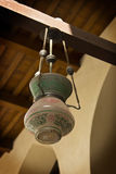 Lamp in old mosque Royalty Free Stock Photography