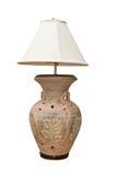 Lamp old porcelain Stock Photos