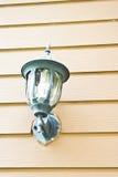 Lamp op de muur Royalty-vrije Stock Foto's