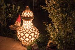 Lamp op de straat Royalty-vrije Stock Foto's