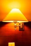 Lamp op een muur Royalty-vrije Stock Afbeelding