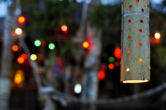 Lamp op het strand Royalty-vrije Stock Foto