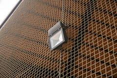 Lamp op netto kabel Royalty-vrije Stock Fotografie