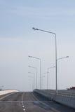 Lamp op weg royalty-vrije stock afbeeldingen