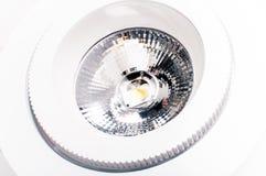 Lamp op witte achtergrond Royalty-vrije Stock Afbeeldingen