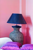 Lamp in pink Stock Photo