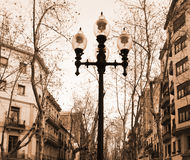 Lamp post Stock Photography