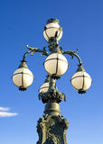Lamp post. A photograph of an ornate lamp post Royalty Free Stock Images