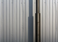 Lamp Post And Metal Fence. Stock Photography