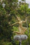 Lamp post angel statue Royalty Free Stock Photo