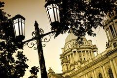 Lamp posts royalty free stock image
