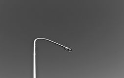 Lamp post in black and white. Stock Photography