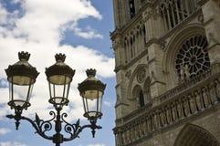 Lamp-post de Ornemental Imagen de archivo libre de regalías