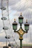 Lamp-post di Westminster Immagini Stock Libere da Diritti