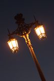 A lamp post Royalty Free Stock Photo