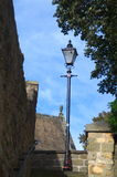 Lamp post in knaresbourgh royalty free stock photos