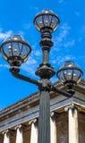 Lamp post near British museum. London Stock Images
