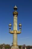 Lamp post in Paris Royalty Free Stock Image