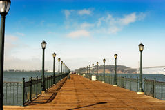 Free Lamp Post Pier Stock Image - 2813411