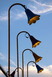 Lamp posts Royalty Free Stock Images