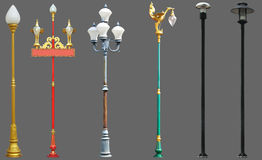 Lamp posts Royalty Free Stock Photography
