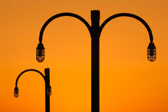 Lamp Posts Royalty Free Stock Photos