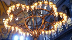 Lamp religion church stock video footage