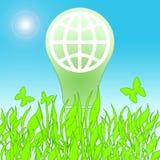 Lamp Saving Life Stock Photography