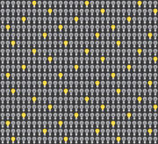 Lamp Seamless Pattern Stock Images
